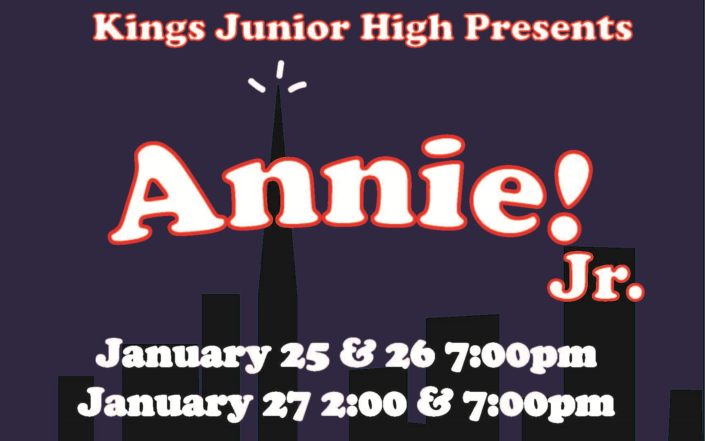 Annie Jr. Graphic